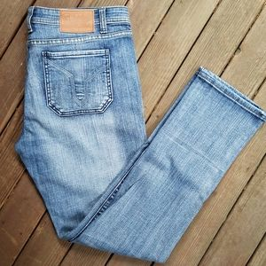 Vigoss Studio The Ritz Skinny Distressed Jeans